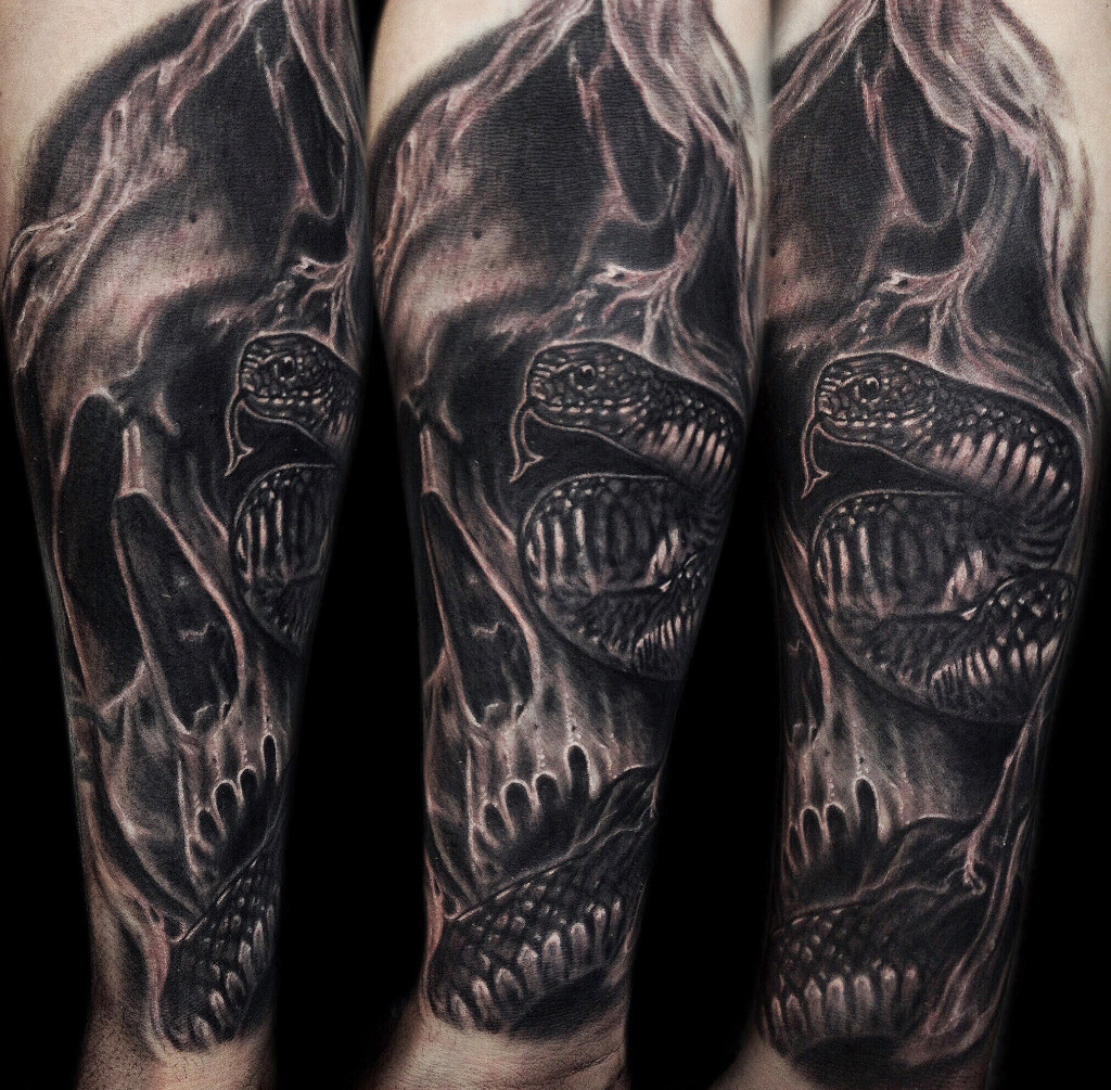 Black Grey Tattoos Kirt Silver Silver City Tattoos
